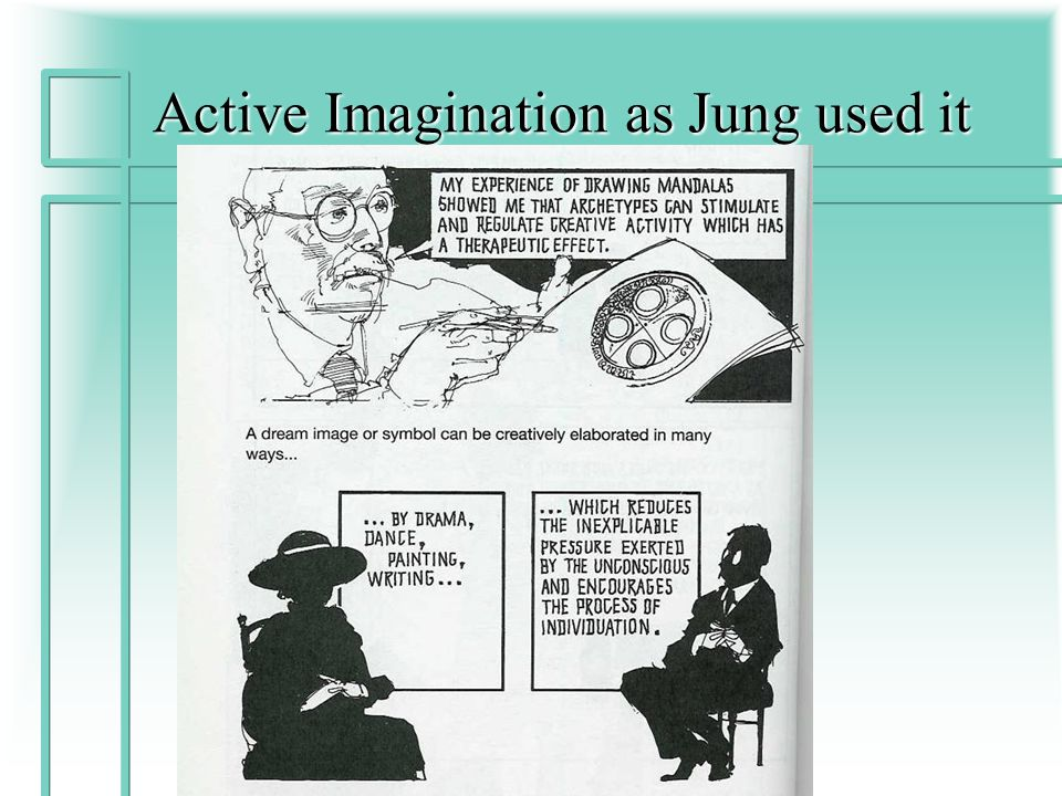 Active Imagination as Jung used it