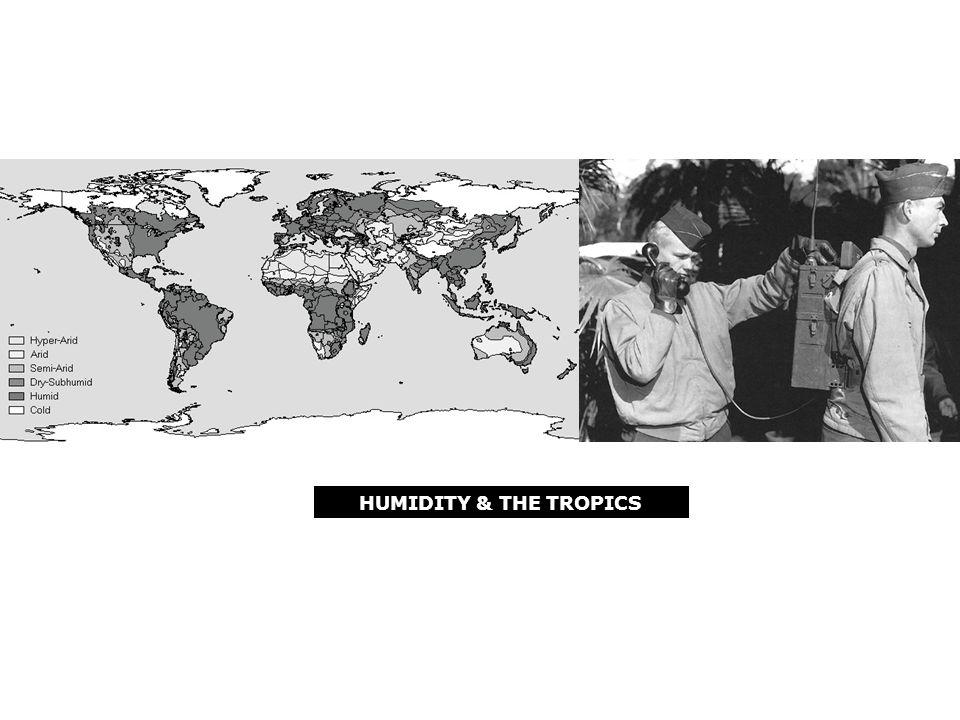 HUMIDITY & THE TROPICS