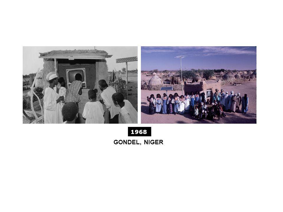 GONDEL, NIGER 1968