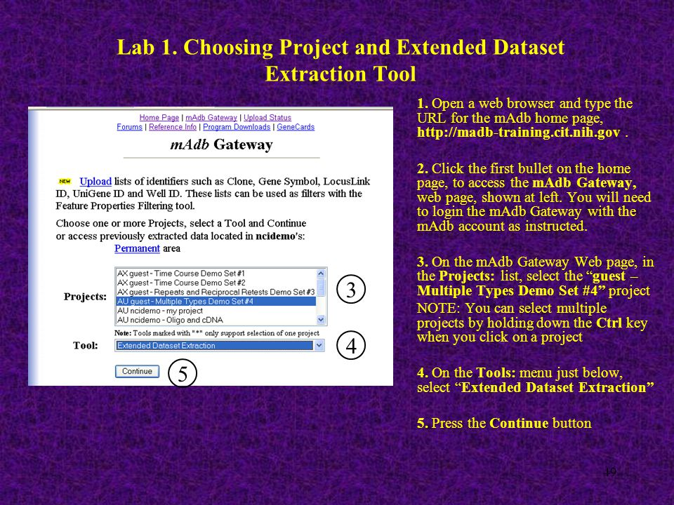 49 Lab 1. Choosing Project and Extended Dataset Extraction Tool 1.