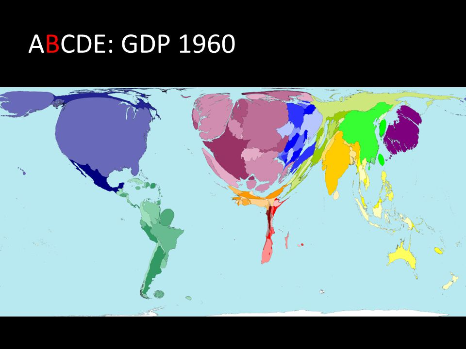 ABCDE: GDP 1960