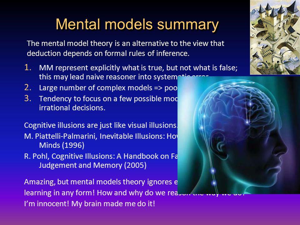 Mental models summary 1.