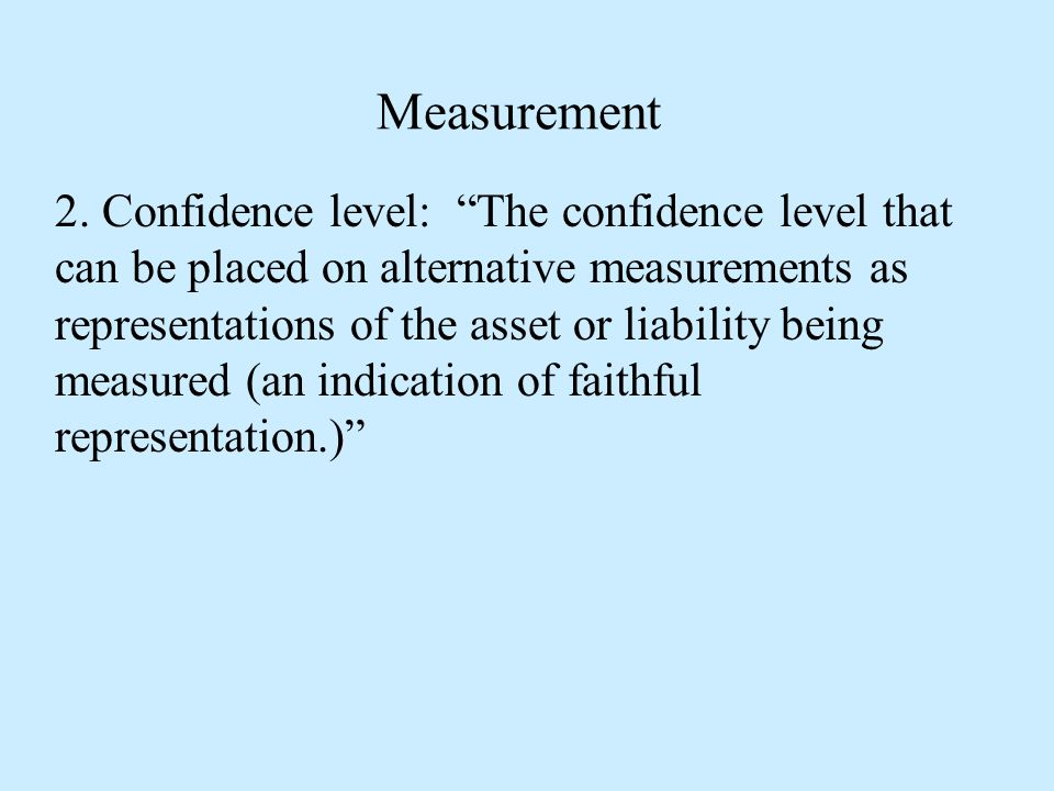 Measurement 2.