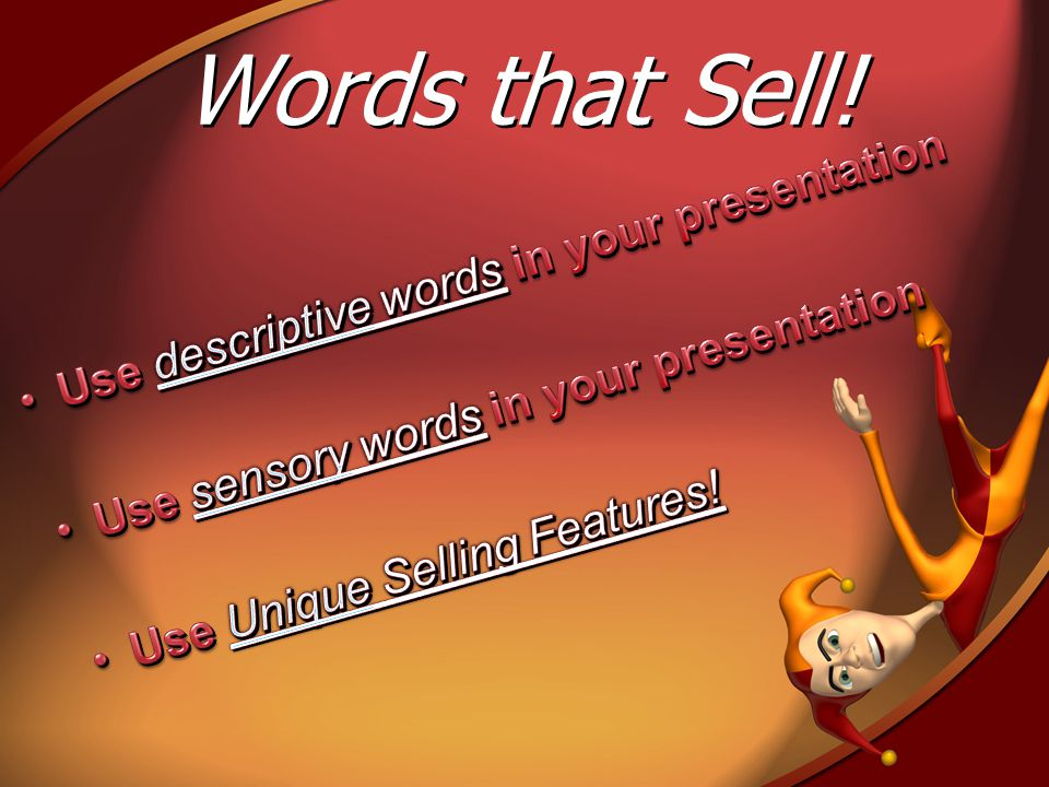 Words that Sell!
