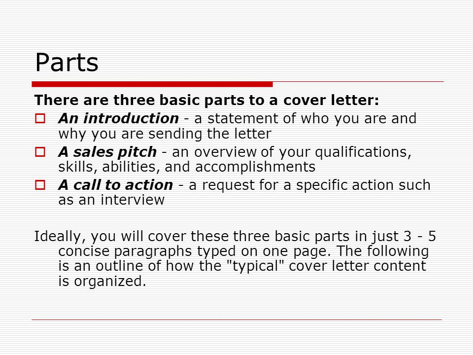 How to  Overcome common cover letter problems
