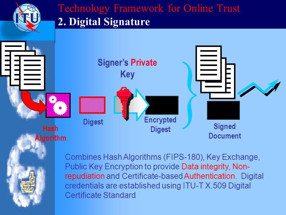 Technology Framework for Online Trust 2.