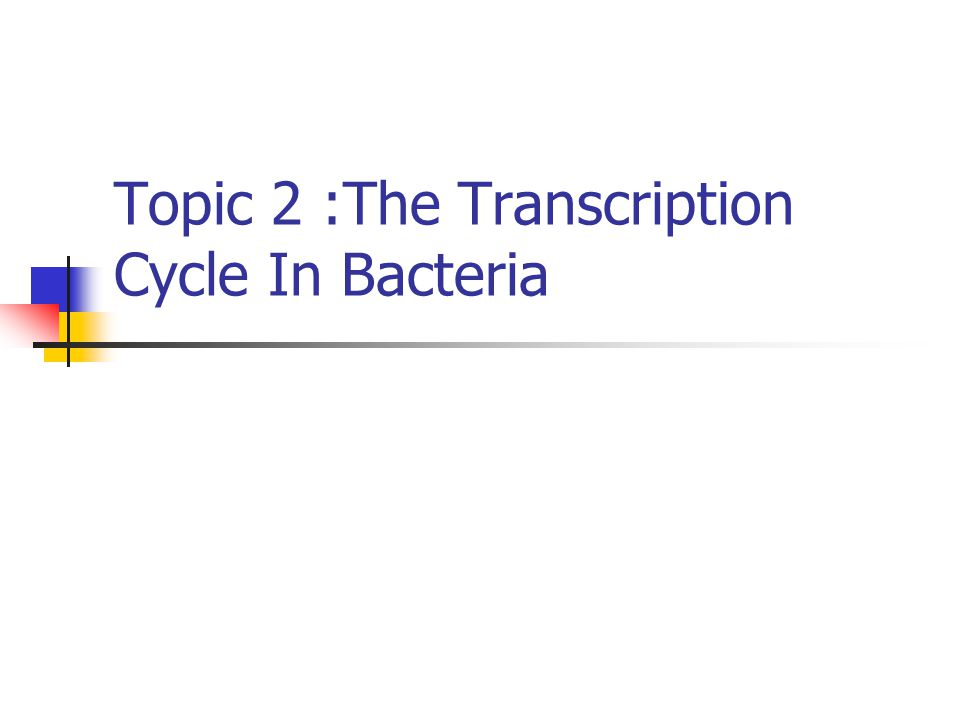 2-1 Bacterial promoters vary in strength & sequence,but have certain defining features The bacterial core RNA pol can,in principle,initiate transcription at any point on a DNA molecule.In cells,polymerase initiates transcription only at promoters.