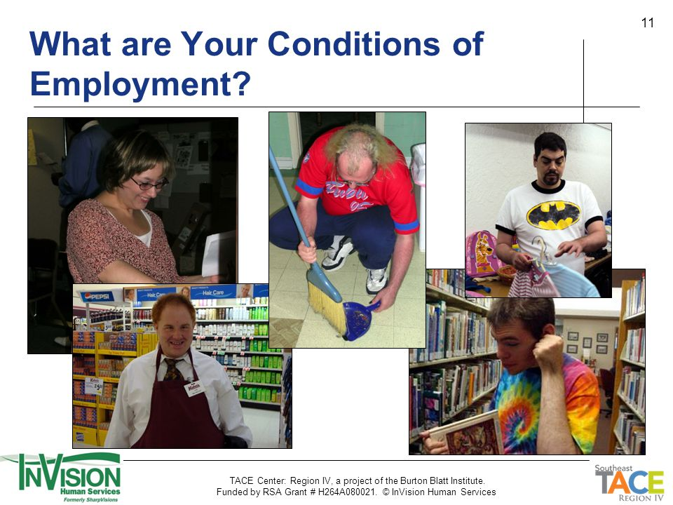 11 What are Your Conditions of Employment.