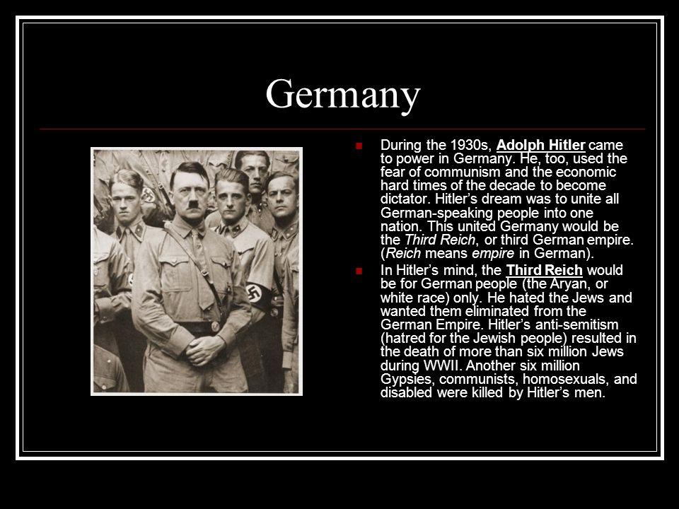 Germany In violation of the Treaty of Versailles, Hitler began to secretly rebuild the German military.