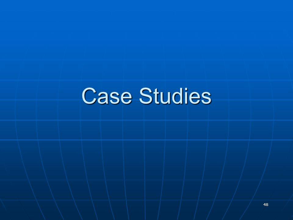 48 Case Studies
