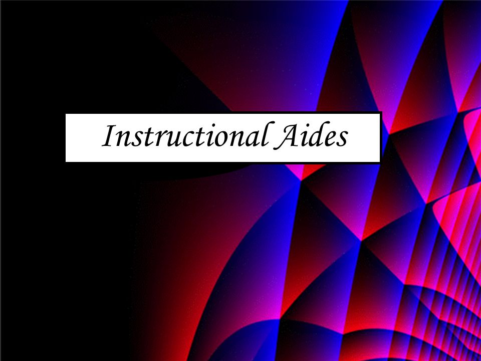 Instructional Aides