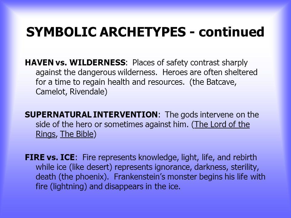 SYMBOLIC ARCHETYPES HEAVEN vs.