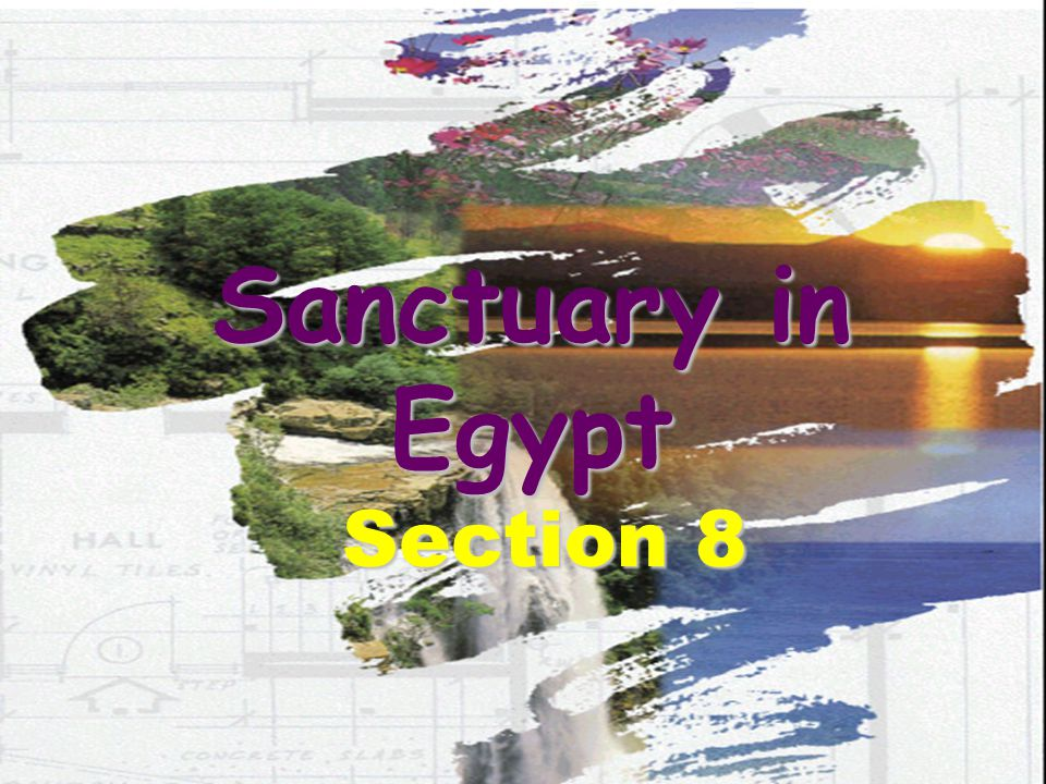 Sanctuary in Egypt Section 8