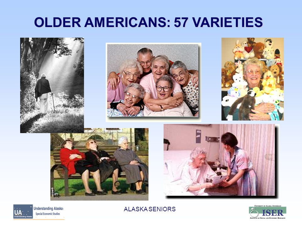GENERAL CONCERNS  ADEQUACY OF INCOME  HEALTH CARE COSTS  LONG TERM CARE ALASKA SENIORS