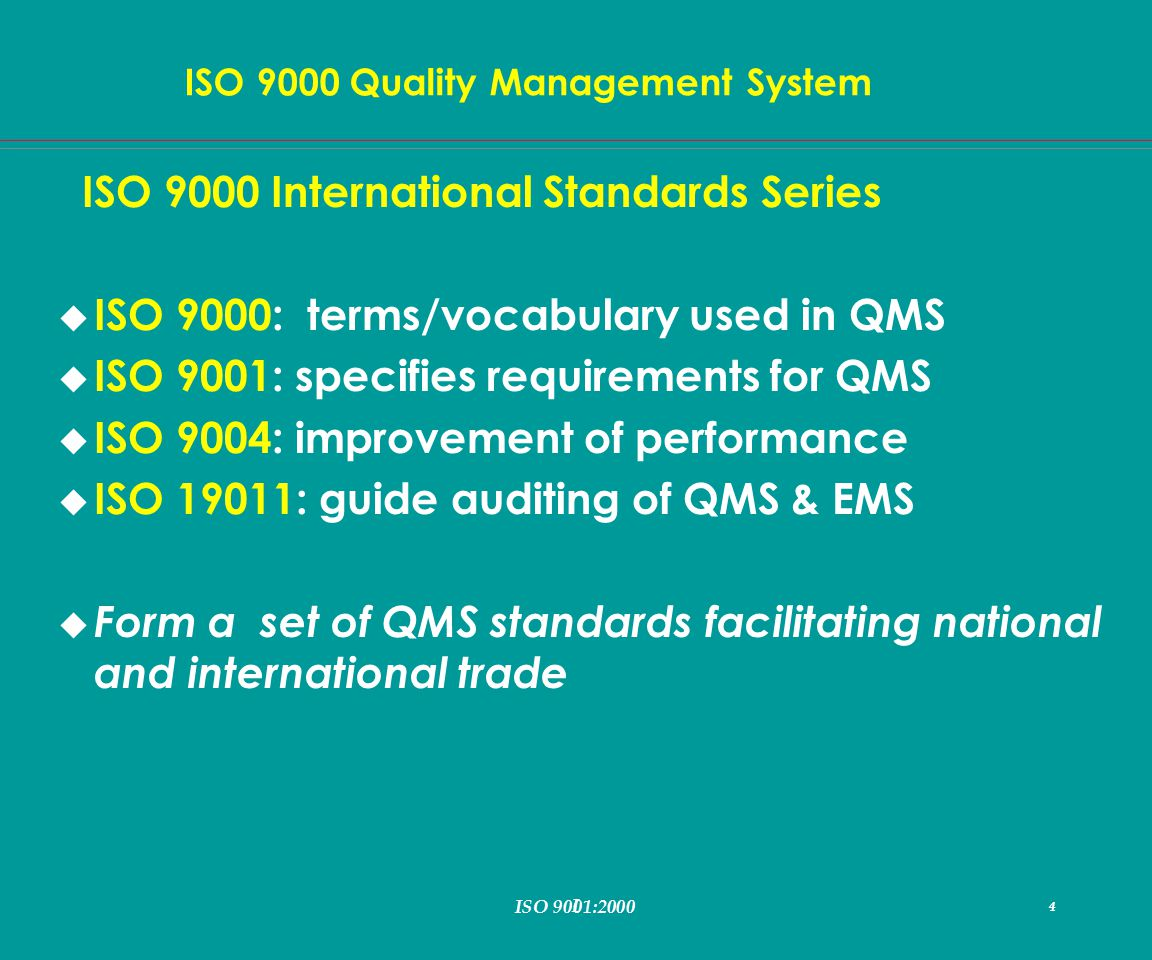 iso9000 quality management system As iso 10007—2003 iso 10007:2003 as iso 10007 australian standard™ quality management systems— this is a free 7 page sample access the full version online.