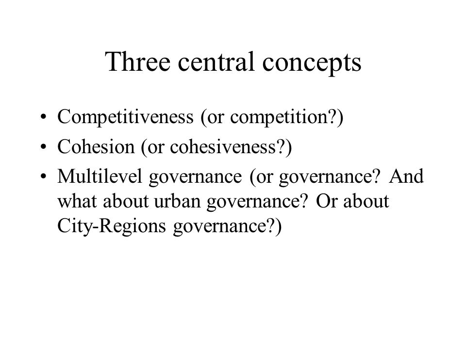 Some preliminary questions Do we embark on this subject because both concepts are in the Lisbon declaration.
