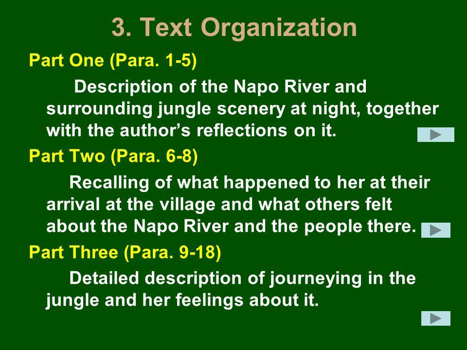 3. Text Organization Part One (Para.