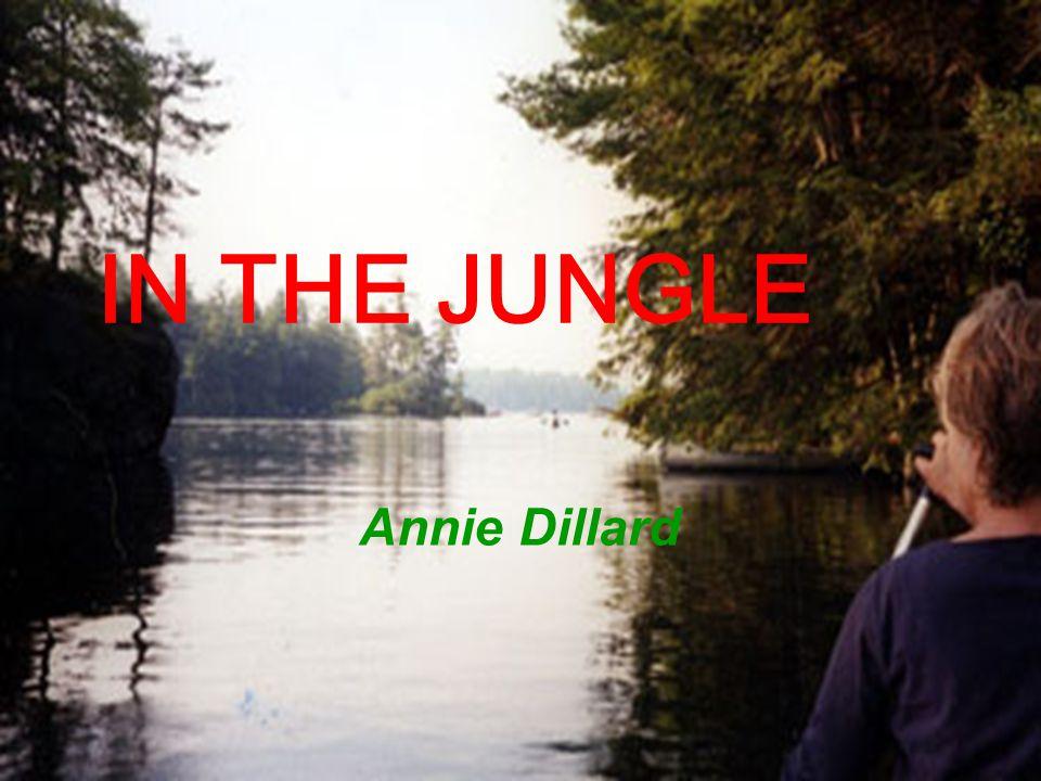 IN THE JUNGLE Annie Dillard