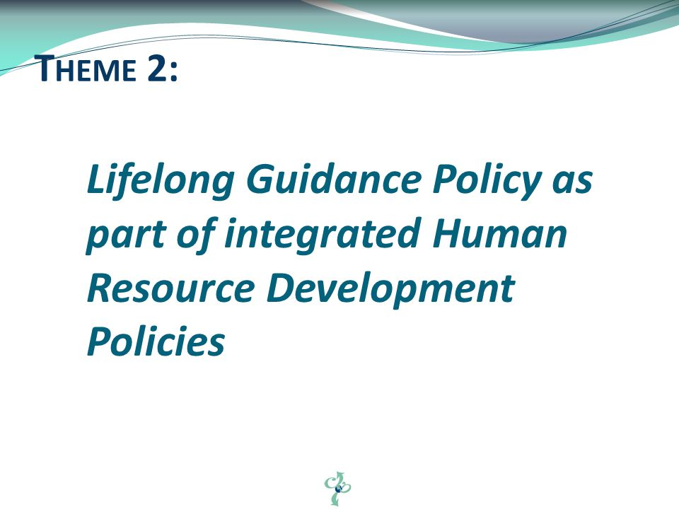 Language Coherence A house for Policy and Policy Influence Values underlying our profession 4 MAJOR O RGANIZING T OPICS
