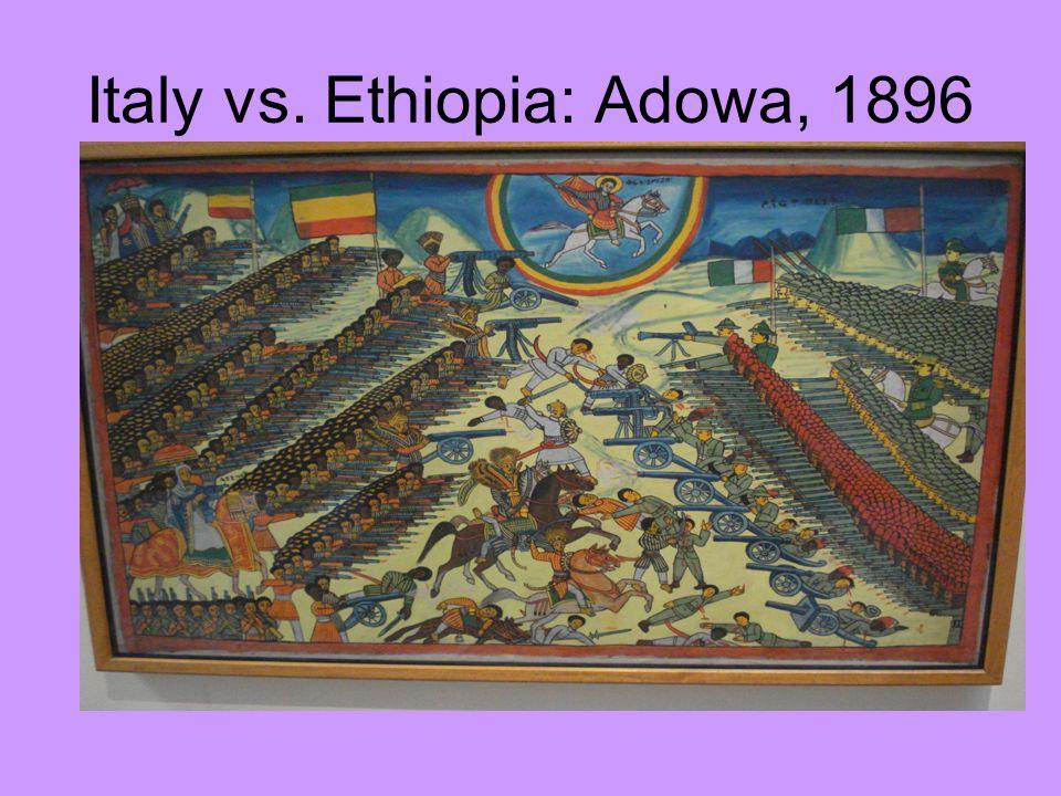 Italy vs. Ethiopia: Adowa, 1896