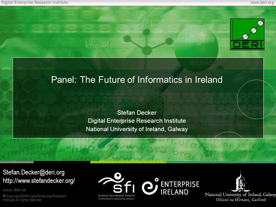  Copyright 2006 Digital Enterprise Research Institute.
