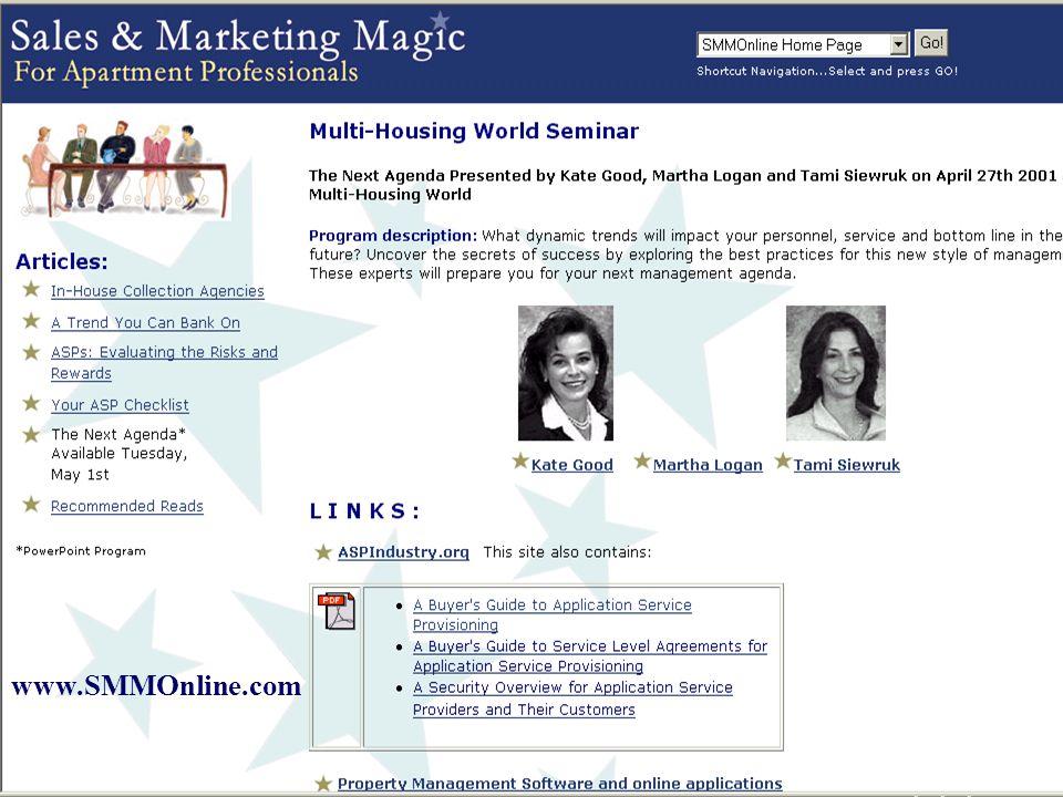 www.smmonline.com www.SMMOnline.com