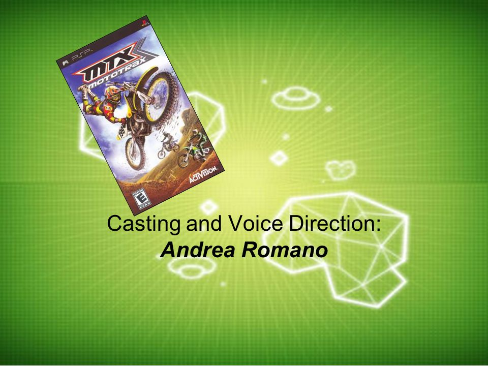 Casting and Voice Direction: Andrea Romano