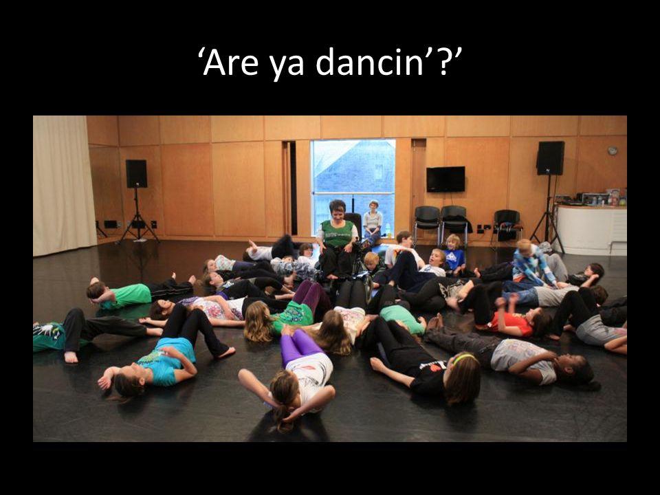 'Are ya dancin' '