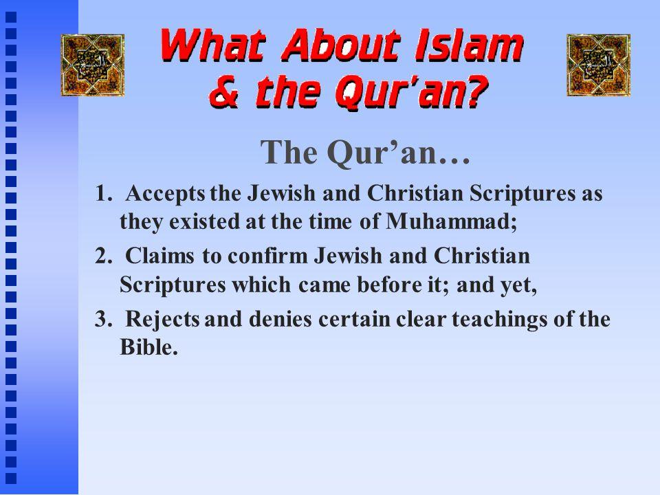 The Qur'an… 1.