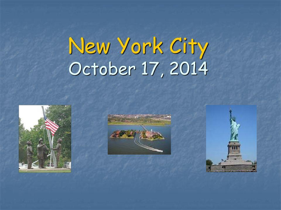 New York City October 17, 2014