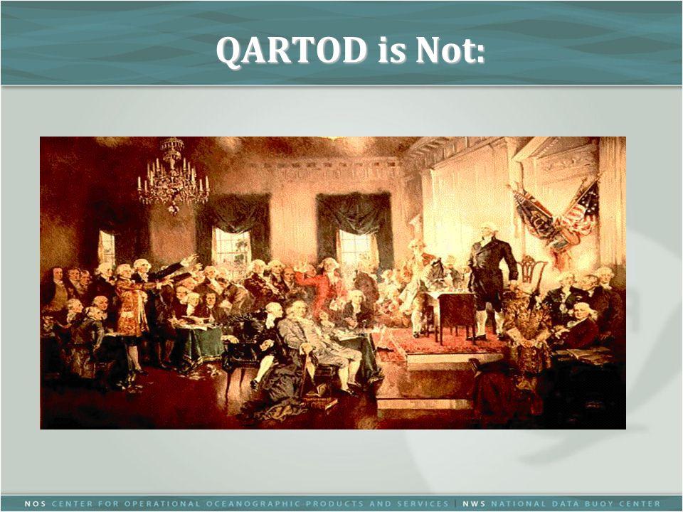 QARTOD is Not: