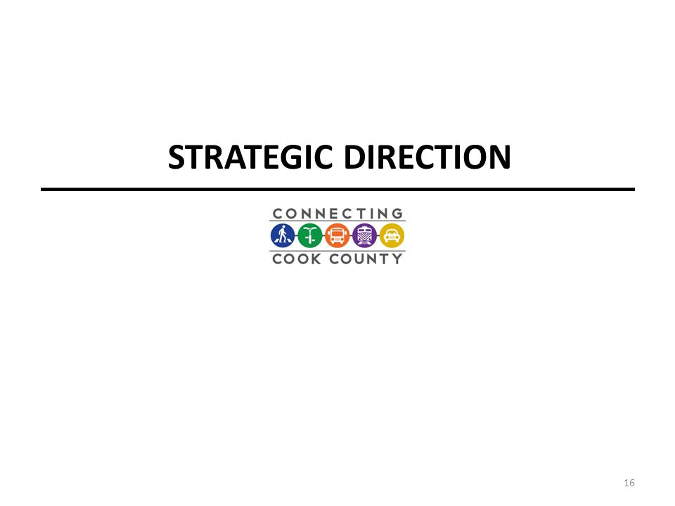 STRATEGIC DIRECTION 16