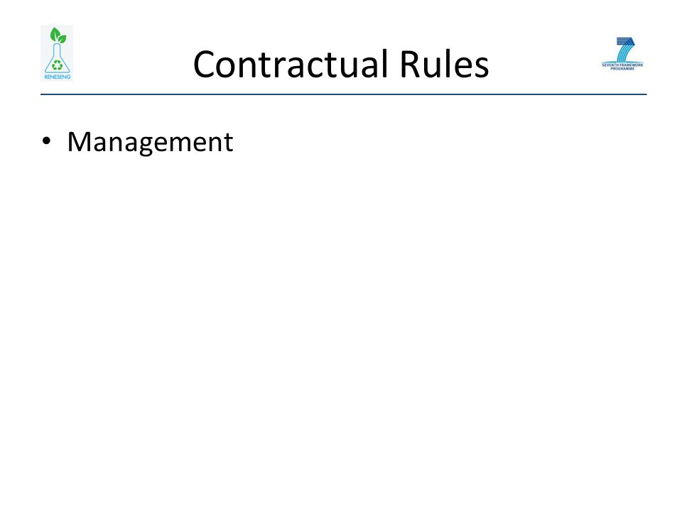 Contractual Rules Management