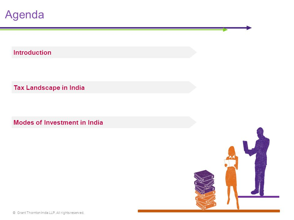 © Grant Thornton India LLP. All rights reserved. Agenda Introduction Modes of Investment in India Tax Landscape in India