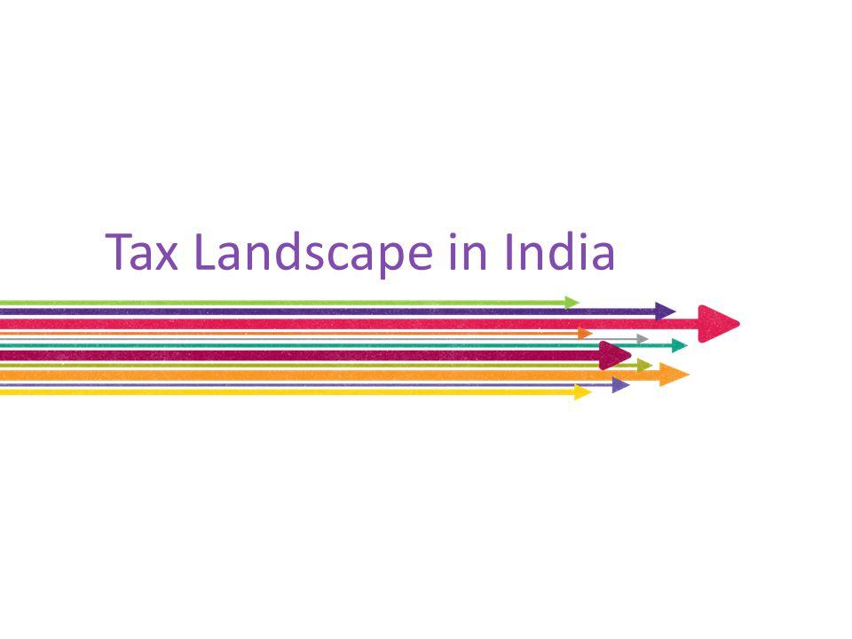 Tax Landscape in India
