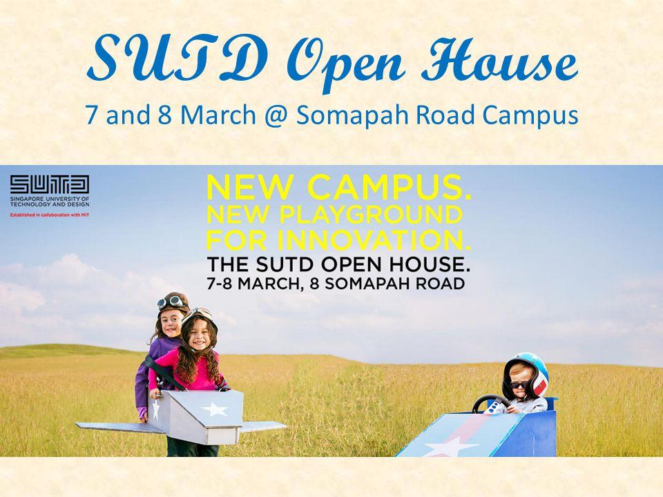 NUS & Yale-NUS College Open Day 14 March, Sat, 9am – 6pm
