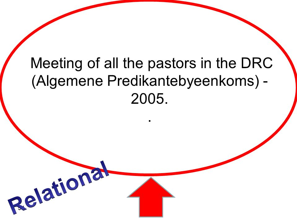 Meeting of all the pastors in the DRC (Algemene Predikantebyeenkoms) - 2005.. 54