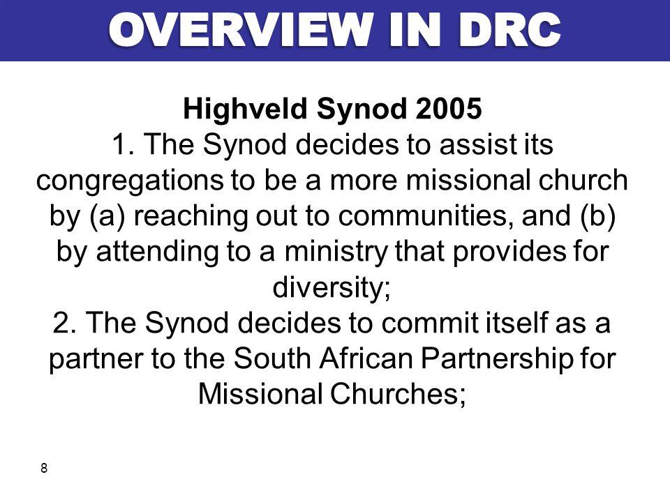 Highveld Synod 2005 1.