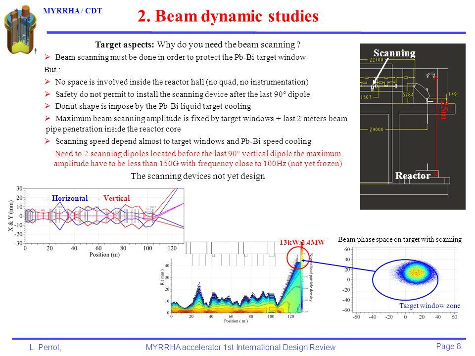 Page 9 L.Perrot,MYRRHA accelerator 1st International Design Review MYRRHA / CDT 2.