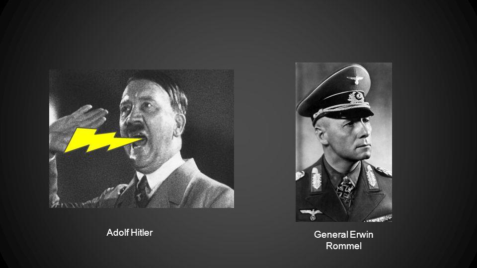 Adolf Hitler General Erwin Rommel