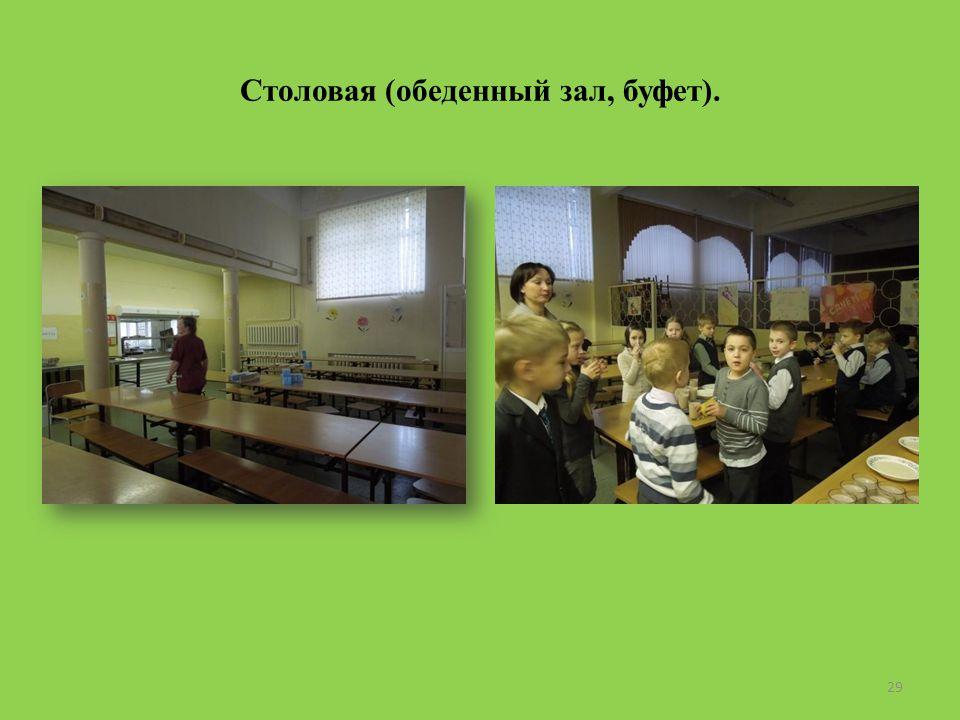 Столовая (обеденный зал, буфет). 29