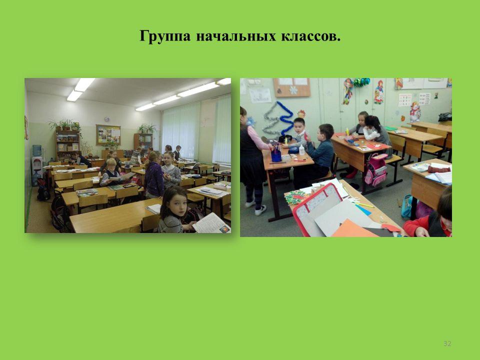 Группа начальных классов. 32