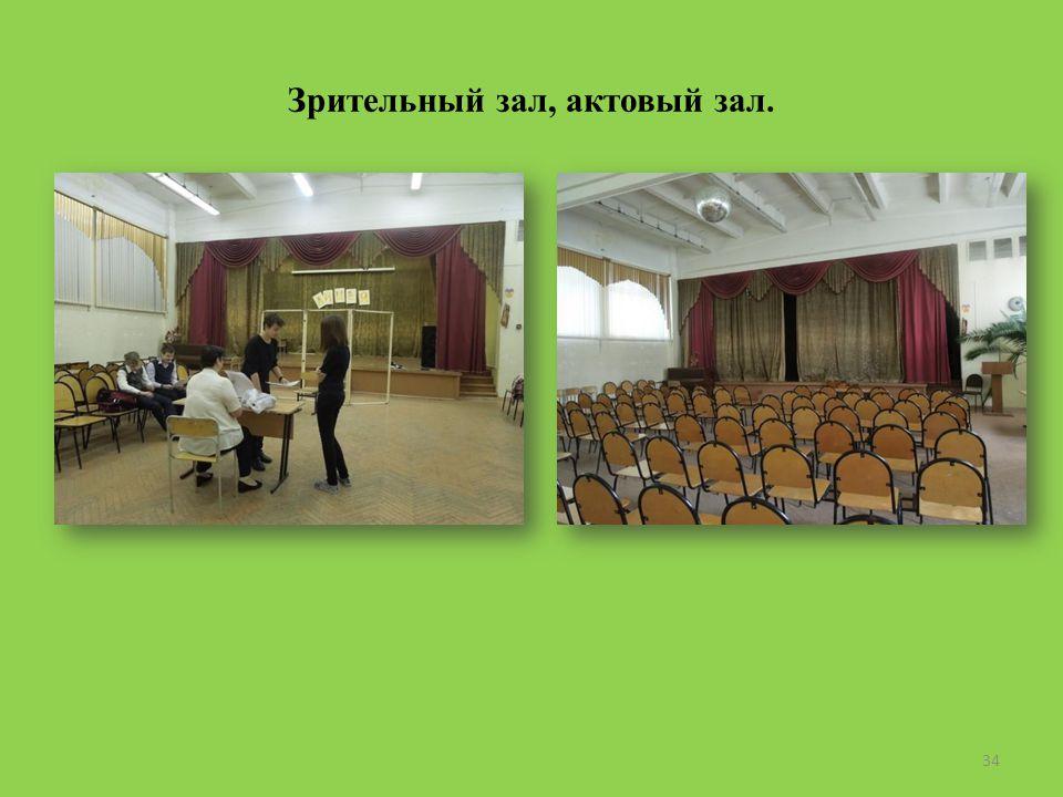 Зрительный зал, актовый зал. 34