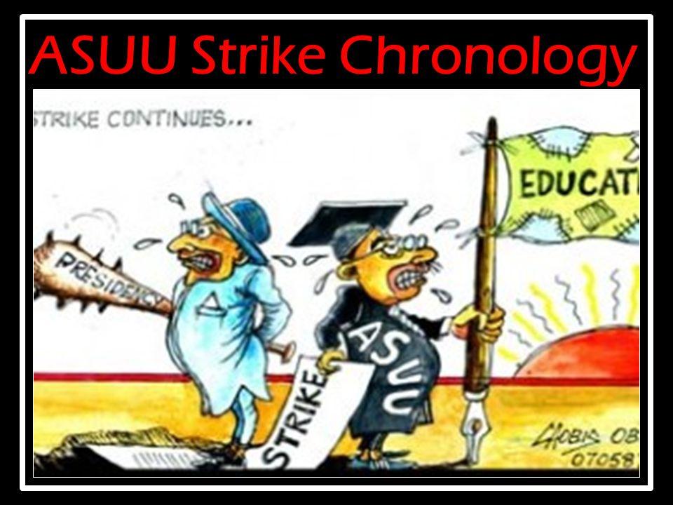 ASUU Strike Chronology