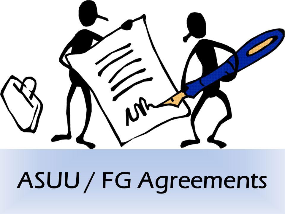ASUU / FG Agreements