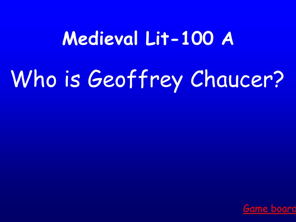 """Literary Devices-500 Answer. Game board The """"penta"""" in iambic pentameter is meant to indicate five of this."""