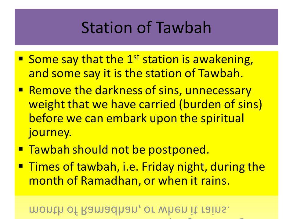 Station of Tawbah