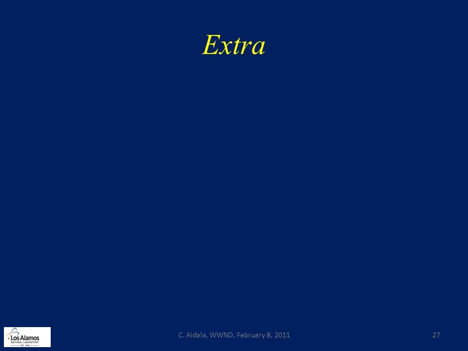 Extra C. Aidala, WWND, February 8, 201127