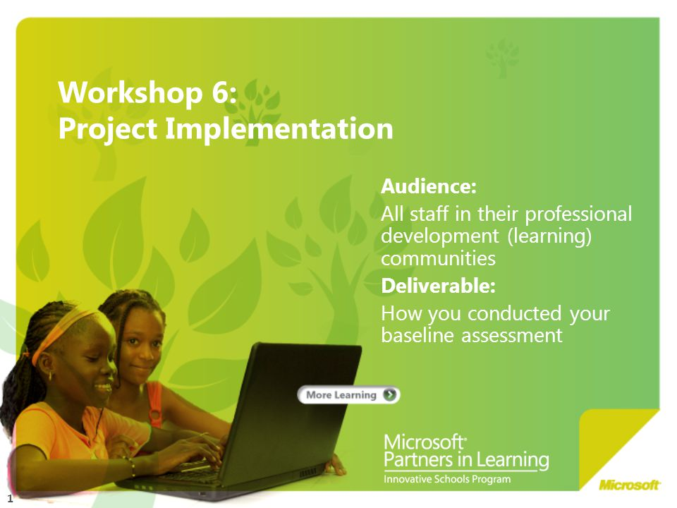 22 Teachers as learners The development of competencies for teachers is also critical.