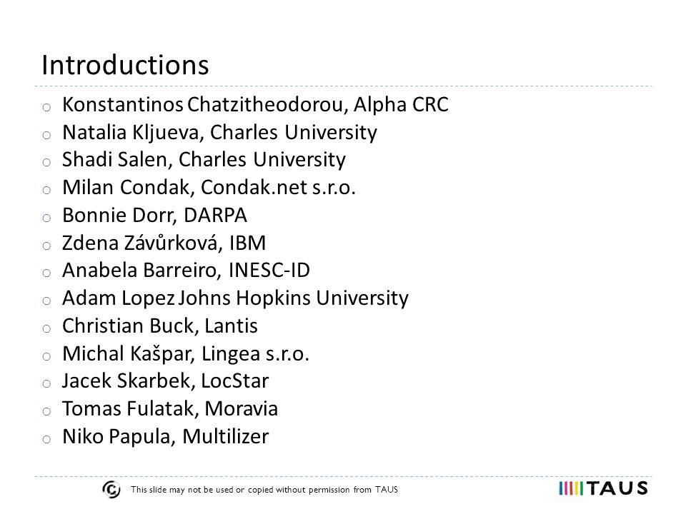 TAUS Moses Roundtable MT in localization company Jacek Skarbek LocStar 11-Sep-2013 Prague, Czech Republic